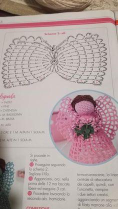 Crochet Angel Pattern, Crochet Angels, Crochet Flower Patterns, Crochet Doilies, Crochet Flowers, Crochet Christmas Ornaments, Christmas Crochet Patterns, Christmas Crafts For Gifts, Etsy Christmas