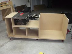 Table Saw Upgrade | Test fit with saw. | Jeremy Daugherty | Flickr