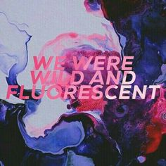 we were wild and fluorescent - Supercut (Lorde)