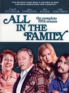 "Jan, 12, 1971, the situation comedy ""All in the Family"" premieres on CBS."