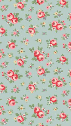 Cath Kidston floral iphone wallpaper
