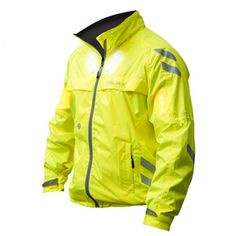Visijax® Commuter Cycling Jacket with Auto Turn Signals and LED Lights (UK/EU)