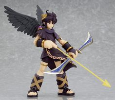 Dark Pit Kid Icarus Costume Reference Image