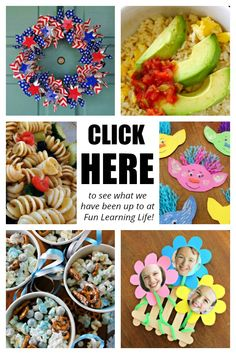 Celebrating Home / Home and Garden Party Bean Pot Recipes - Fun Learning Life Patriotic Crafts, Patriotic Wreath, July Crafts, Holiday Crafts, Diy And Crafts, Crafts For Kids, 4th Of July Decorations, Felt Decorations, Kites Craft