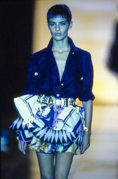 Versace Spring 1992 Ready-to-Wear Collection Photos - Vogue