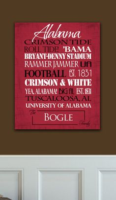 University of Alabama Crimson Tide <3 <3