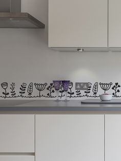 1000 images about cenefas vinilo cocina on pinterest - Cenefas adhesivas para cocina ...