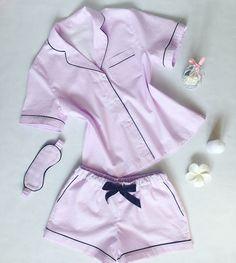 Instagram _k_bunny_k_ Cute Sleepwear, Lingerie Sleepwear, Nightwear, Cute Lazy Outfits, Pretty Outfits, Cute Fashion, Fashion Outfits, Night Suit, Pajama Outfits