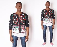 Ugly Christmas Sweater  Vintage Christmas Sweater  by EmmettBrown, $46.00