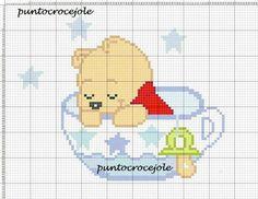 Winnie the Pooh x-stitch