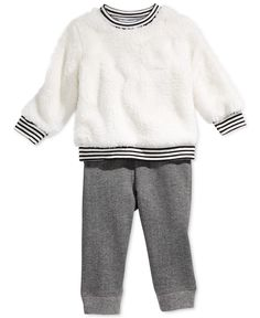 First Impressions Baby Boys  2-Piece Shirt   Pant Set 9503342e113