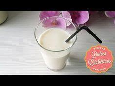 Cómo hacer horchata casera sin azúcar | Dulces Diabéticos