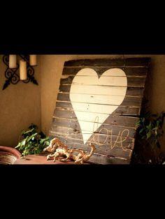 diy wood sign | DIY Wooden Sign Idea....