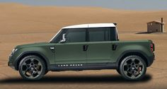 Land Rover DC100 Sport  (Crew Cab) Concept