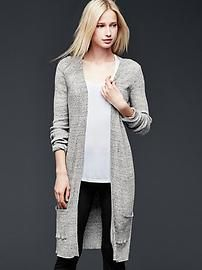 Pure Body ribbed cardigan