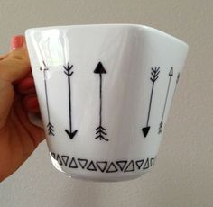 Finished DIY project — Decorating my own mug with a sharpie ...