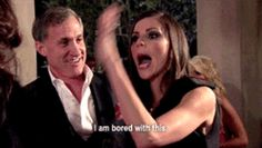 I am bored with this RHOBH gif