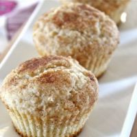 Snickerdoodle Muffins…Just Like The Cookie Except 10x Better