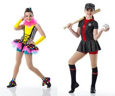 Kendall for Cicci Dance Creations. I would were the goofy one and Chloe would were the baseball one