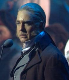 Les Mis - Philip Quast as Javert, the only one who looks as Javert should.