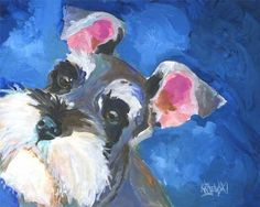 Source by The post Miniature Schnauzer Art Print of Original Acrylic Painting & appeared first on Douglas Dog Hotel. Schnauzer Miniature, Schnauzer Art, Dog Paintings, Original Paintings, Ouvrages D'art, The Artist, Arte Pop, Painting & Drawing, Watercolor Paintings