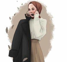 #girlydrawings #hijab #حجاب Tattoo Girls, Tattoo Designs For Girls, Cartoon Girl Images, Girl Cartoon, Cartoon Kunst, Cartoon Art, Afro Punk, Steampunk Fashion Women, Islamic Cartoon