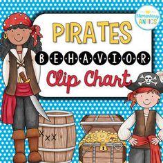Pirates Behavior Clip Chart