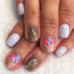 Nails gel nails mani manicure short nails cute nails pretty nails nail design nail… - #cutesummernails