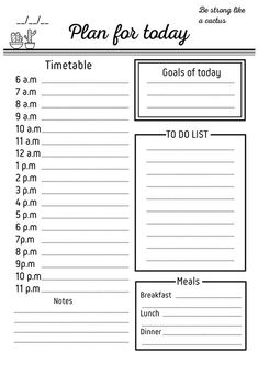 Wonderful Free of Charge daily planner to do list Popular Paper planners are effective only if you use them properly and regularly. Here are some ways to find Planner Free, To Do Planner, Daily Planner Pages, Planner Template, Weekly Planner, Printable Planner, Checklist Template, College Planner, Free Daily Planner Printables