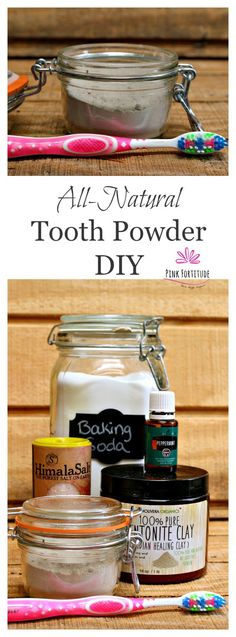 All-natural tooth powder is an excellent alternative to traditional toothpaste…