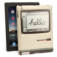 """Padintosh"" #case for #iPad from @thinkgeek makes it look like 2012 is like 1984. $24.99 #gadget"