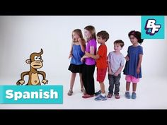Learn Spanish parts of the body with BASHO & FRIENDS - [Album Version] - YouTube