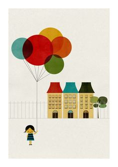 I love Blanca Gomez's work, and this is one of my favorites currently. Though all of her illustrations are super.