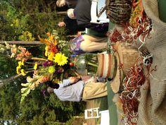 Fall country wedding