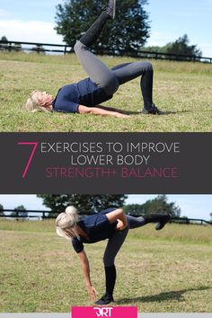 Improve your strength for riding with these 7 key lower body dressage exercises for riders. Create better posture and balance for dressage . Horse Riding Boots, Horse Riding Tips, Horseback Riding Tips, Horse Exercises, Balance Exercises, Training Exercises, Training Tips, Riding Lessons, Better Posture