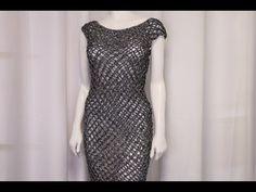 Aprende a Como Tejer Estos Vestidos en Crochet paso a paso fácil y rápido – Aprende Con Diana
