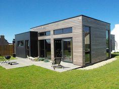 Maison Cubique près des Abers | Salon Maison Bois Angers