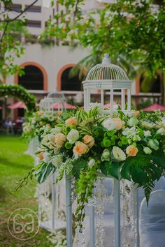 Casa Amore Wedding Studio | www.casa-amore.my | #garden #weddings #decoration #penang #parkroyal #walkway #flower