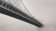 Riding around the Hudson in the fog Manhattan College, Amazing Photography, Art Photography, Camera Techniques, Washington Heights, Fort Lee, Crazy Makeup, George Washington Bridge, The Good Place
