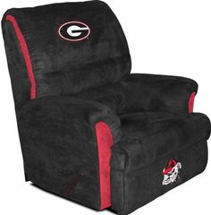 Big Daddy Recliner - University of Georgia Bulldogs...CLICK for more detail...FREE Shipping on order over $25