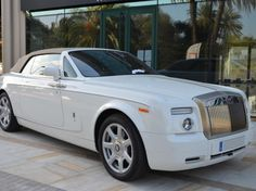 Rolls Royce Phantom Drophead available for hire in Monaco. To rent this car please call us: +34 952 773943