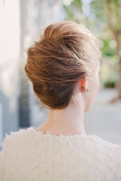 Festive Hairstyles To Dazzle 'Em All #refinery29  http://www.refinery29.com/holiday-hairstyles#slide-9  Holidays With A Twist We're putting a twist  on this classic 'do. This modernized spin on the French twist is an elegant way to impress at any family gathering. Chic....