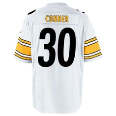 0b36ce7a2 Shop the Official Steelers Pro Shop for Pittsburgh Steelers Nike 2017 Draft  Pick James Conner Replica Away Jersey