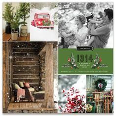 Through The Woods Inspiration Board, curated by Jessica at Minted