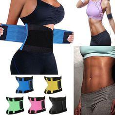 f89a4bdf90 Women Trainer Shapewear Hot Tummy Cincher Waist Shaper Neoprene Vest Body  Sweat