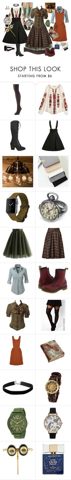 """""""Use your evil"""" by amanda-anda-panda ❤ liked on Polyvore featuring Apt. 9, Calypso St. Barth, Monowear, Chicwish, J.O.A., LE3NO, Dr. Martens, ASOS, TIBI and Swatch"""