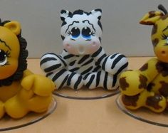 Topo de bolo safari