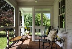 Front Porch Deck Ideas Porch Farmhouse with Country House Country Side