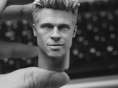 Brad Pitt sculpted by Kim hyun ji