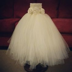 Ivory Tutu Dress Made by Handpicked From Heaven
